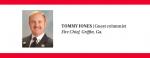 Tommy Jones, Fire chief, Griffin, GA