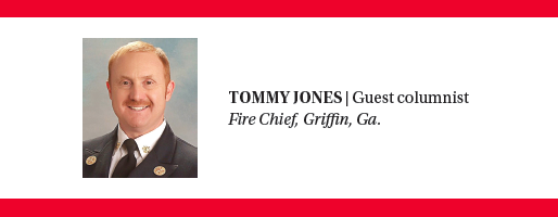 Tommy Jones, Fire chief, Griffin, GA