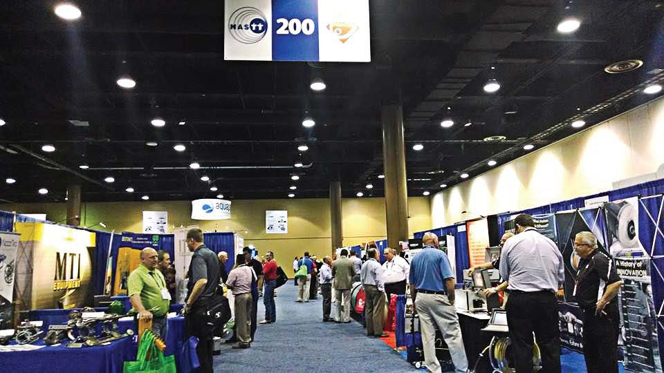 Experts and experienced professionals shared installation case studies, process demonstrations and technology news at the 2014 No-Dig Show in Kissimmee, Fla., in April. (Photo by Ashley Adamaitis)