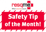 safety tip of the month