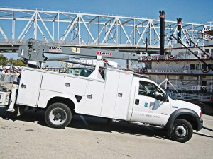 City of Cincinnati, Ohio, Venturo HT40KX crane (Photo provided)