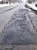 After - Infrared repair to Barlow Street in Traverse City, Mich.