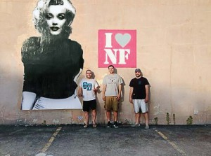 Old building facades are getting sparks of life in Niagara Falls, N.Y. This one received a Marilyn Monroe mural. (Photo provided)