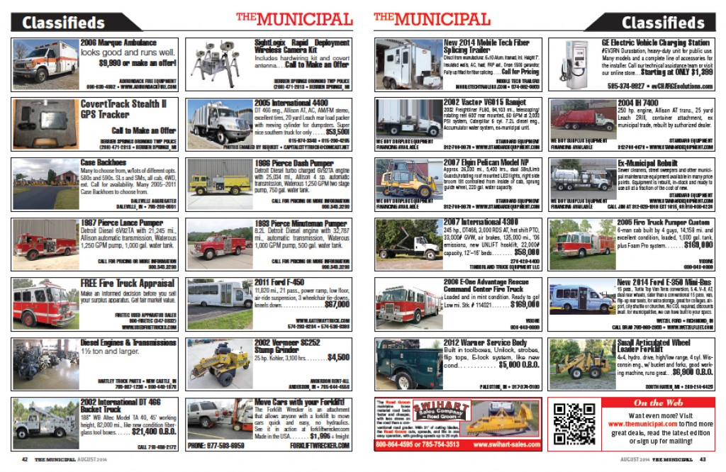 Click the image to download this month's classifieds