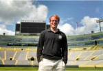 Matthew Golson, 2014 Jacobsen Turfgrass Winner from Auburn University, is currently interning with the Green Bay Packers at Lambeau Field.