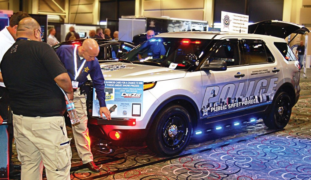 mspce 2014 featured a packed exposition floor that included the newest candidates for law enforcement fleet vehicles. (Photo by Jodi Magallanes)