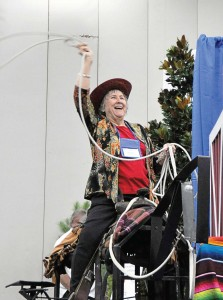 An nrpa participant test drives a new product at the 2013 show. (Photo provided)