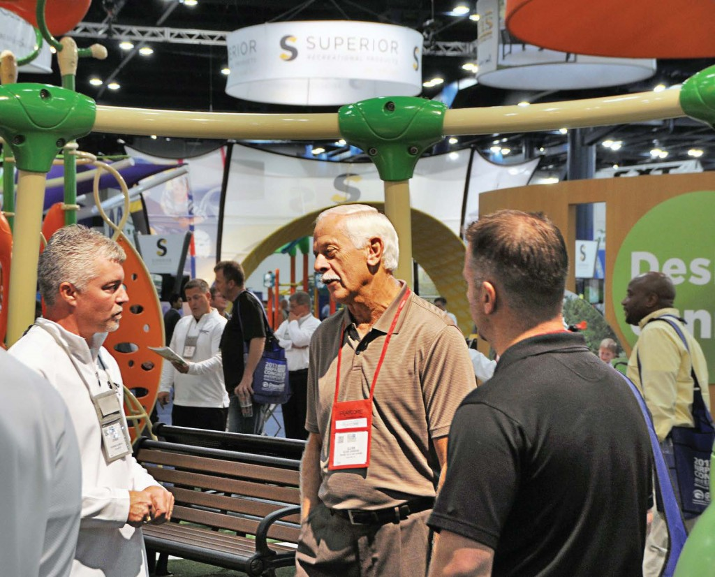 The place to find the next viral parks and recreation equipment will be the 2014 NRPA show floor. The exposition will be open from 10:30 a.m.–4:30 p.m. Tuesday, Oct. 14, and from 10 a.m.–2:30 p.m. Wednesday, Oct. 15. (Photo provided)