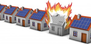 Improper installation of solar panels is one of the greatest risk factors related to arc-faults that cause fire at residential and commercial sites. (Shutterstock photo)