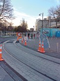 Though a grant from the American Public Works Association, she also met with local, state and federal officials and observed reconstruction sites such as this one in the Christchurch City Centre. (Photo provided)