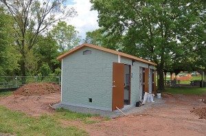 Loudoun County Department of Parks, Recreation and Community Services in Virginia also installed new restrooms in Ashburn Park and Gwen Thompson Briar Patch Park this summer. (Photo provided)
