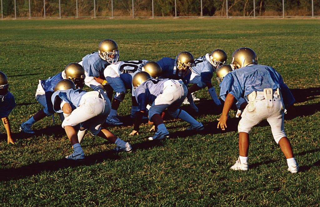 In order to meet the coverage standard, the middle of football and soccer fields are typically resodded. Political and financial support for management decisions is generated and maintained by effective communication and a team building with stakeholders. (Spirit of America / Shutterstock.com)