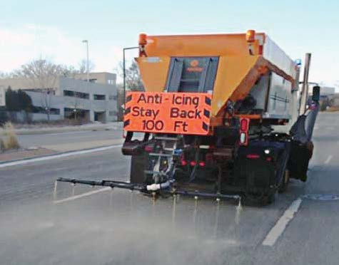 The city installed automated vehicle location equipment in its snow and ice control vehicles, which makes it easier to collect and analyze data such as salt application rates, total usage and actual plow-down times. (Photo provided by the city of Bloomington, Minn.)