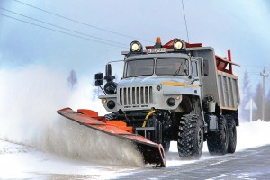 anti-fatigue snow plow technology