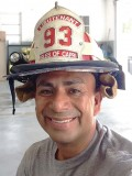 Lt. Jorge Lara serves with the Isles of Capri Fire Rescue in Naples, Fla.