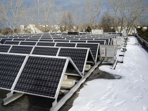 Falcon Heights City Hall Solar Power
