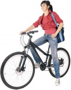 millenials on bikes