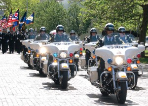 Toledo police motorcycle unit