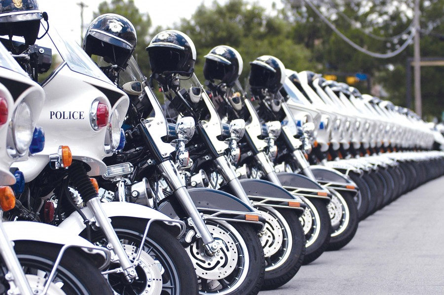 police motorcycle motorcycles law enforcement officer fleet training cops officers awesome stops municipal units there such thing hurry privacy according