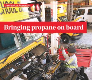 propane autobus mechanic