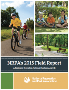 The NRPA's annual field report is one useful tool developed from statistics tracked by local departments and then uploaded to the PRORAGIS program to give a comprehensive look at parks and recreation trends.
