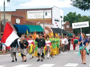 A study tagged the revenue generation from Folkmoot USA, which takes place in several locations in and around Waynesville and Haywood County, N.C., at more than $7 million. Waynesville is the largest city and county seat. (Photo provided) (Richard, I left this one uncropped)