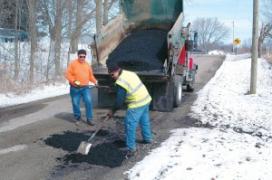 Turning the discovery phase over to the public via pothole reporting systems allows more time for crews to concentrate on repair. (Photo by Keith Knepp)