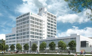 Rockford Suites is a $67 million hotel project being built in a