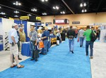 Exhibitors received a crowd of contractors at the 18th annual Snow and Ice Management Association conference.