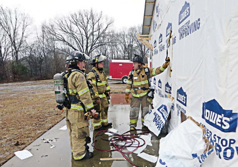 KTF uses a hypothesize test-evaluate model involving test burns to study the factors that encourage fire growth