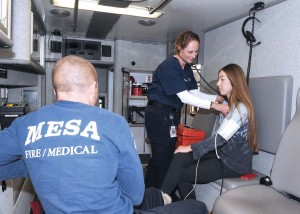 Mesa EMS began experimenting in earnest with a nurse practitioner program in 2011. Emergency department overcrowding, the economic downturn and the passage of the Affordable Care Act all contributed to its desire to modify the way it delivered health care to the community. (Photo provided)