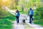 Carol Stream installed additional benches along its biking and walking paths to provide respite for both twolegged and four-legged patrons.