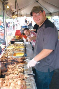 In Mentor, Ohio, among the two dozen CityFest food vendors who kept the event culinarily fresh this year were purveyors of custard and ice cream, pepperoni bread, steak burgers, gyros, Greek salad, gator on a stick, pork tenderloin, blooming onions, pierogies, bison brats, elk burgers and smoked beans. (Photo provided by city of Mentor)