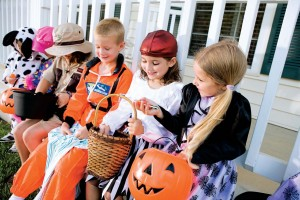 official rules regarding trick-or-treating