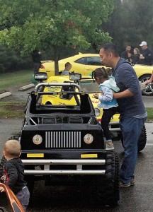 A yearly Touch a Truck event organized by the preschool/youth programming team at Dublin Community Recreation Center in Dublin, Ohio, is as a convenient way for the public works department to educate and interact with local residents.