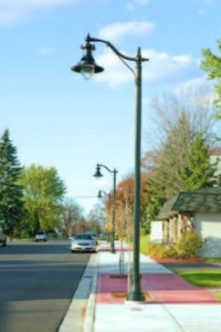 With an expected service life of 20 years, LED solutions can virtually eliminate the maintenance costs typically associated with street lighting. (Photo provided)