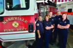 Nashville Fire Department reaches out to the public on various forms of social media including to publicize recruiting efforts.