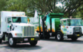 Compressed natural gas vehicles owned by the Emerald Coast Utility Authority, which now fill up at the station. (Photo provided)