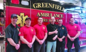 Greenfield, Wis., firefighters and paramedics were pleasantly surprised when the gentleman they took to the hospital with a cardiac emergency walked into their station one day
