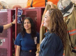 Manlius, N.Y., has experienced a spike in interest from females, who now make up about one-fifth of the local fire department's volunteers. (Photo provided)