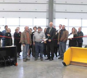 An $8 million, 47,000-squarefoot public works operations facility was built in 2011 within the public works campus. It houses public works operations and maintenance staff, plus equipment. (Photo provided)