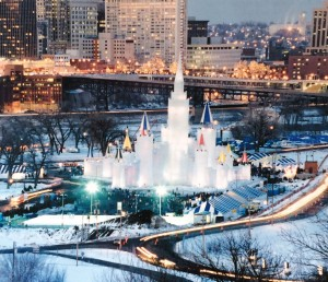 One of the more interesting aspects of the professional career of John Maczko, city engineer with the city of St. Paul, Minn., has been to oversee construction of an annual winter ice palace. This particular palace, constructed in 2004, was designed to be toured inside and out.