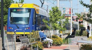 The Central Corridor Light Rail Transit project was an 11-mile line connecting downtown St. Paul with downtown Minneapolis and running down the middle of an arterial street.