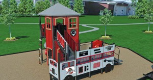 A firefighter-themed play pocket coming to Greenwood, Ind., and located near Fire Station 91 will encourage play and expose children to the firefighting profession.