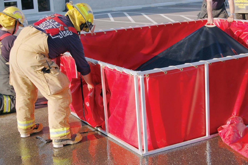 Husky's PRO500 Tank Liner, a new and exciting fireground solution, adds up to 500 gallons of water while still fitting a customer's existing frame.