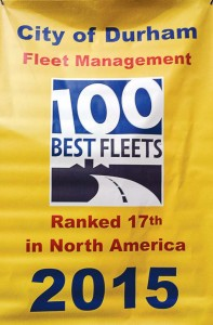 durham fleet managment 17th in USA