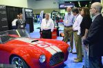 A big attraction at The Work Truck Show 2016 trade show and exposition was a 3-D printer version of a Shelby Cobra, created by Cincinnati Inc. (Photo courtesy NTEA)