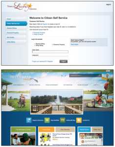 The town also created a step-by-step, online user's guide.