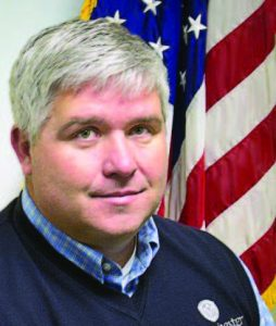 Manchester, Iowa, City Manager Timothy Vick has been with the city for 11 years.