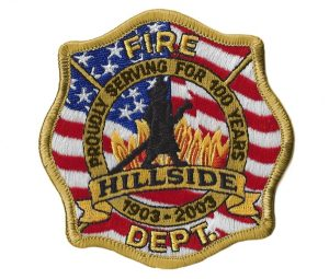 GOLD HILLSIDE FD PATCH